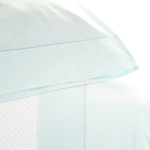 $272.00 classic hemstitch sky sheet set - King